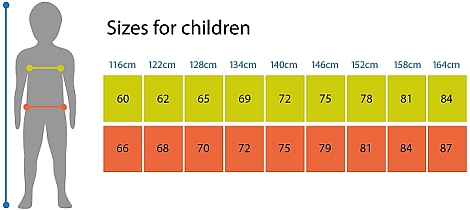children size chart